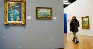 500 valuables paintings stolen in Budapest