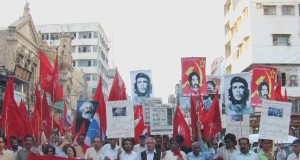 Left-wing Pakistani activists call on Govt to support Baloch Marchers