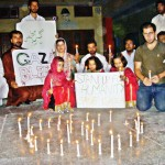 Candlelight Vigil in Quetta for Gaza victims