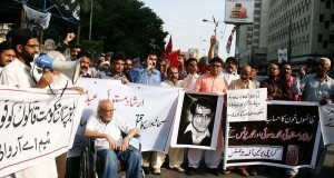Journalists protest in Karachi against murder of colleagues in Quetta