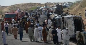 A Devastating Road Accident Kills 11 People In Lasbela