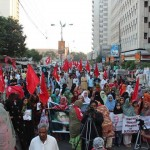 BSO rally Against Abduction of Baloch Women from Dera Bugti