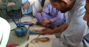 Art Workshop Organized In Buleda