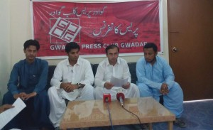 Addressing a Press Conference