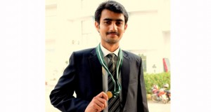 Baloch Student Awarded Gold Medal In UET Lahore