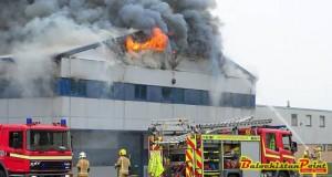 Widespread Industrial Fire Incidents In Pakistan