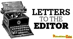 Letter: Cruel District Educational Officer Of Jhal Magsi