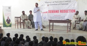 Importance Of Drug Awareness Sessions In Balochistan