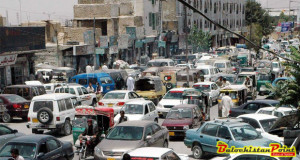 Traffic issues in Balochistan