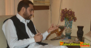 I Am Not Satisfied With Earthquake Rehabilitation In Awaran: Abdul Quddus Bizenjo
