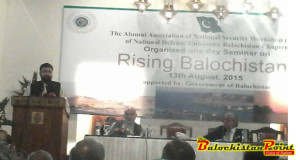 'Rising Balochistan' Seminar Held in Quetta