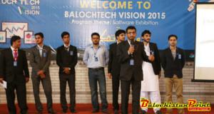 BalochTech Vision 2015 Exhibition Organized in Karachi
