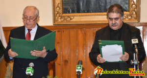 Nawab Sanaullah Zehri Elected 22nd CM of Balochistan