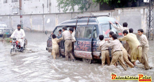 Heavy Rain Coupled with Hailstorm lashed Major Parts of Balochistan