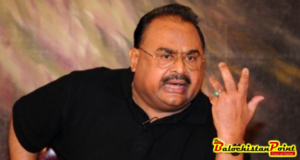 Balochistan Govt seeks action against Altaf Hussain