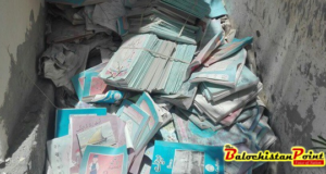Hundreds of books found dumped in garbage at District Education Office Kech