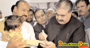 CM Balochistan kicks off anti-polio drive