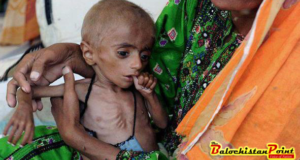 Malnutrition threatening lives  in Balochistan