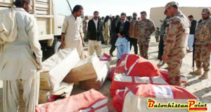 Airdrop aid to Kalat and Mastung
