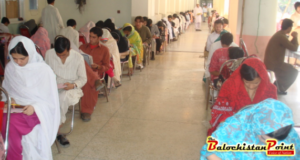 Secretary Health Balochistan visits screening test center for medical colleges