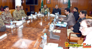 Quetta: Security situation reviewed in Provincial Apex Committee meeting