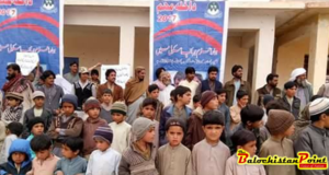 Education Enrollment Campaign launched in Kalat