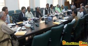 First technical committee meeting of MICS conducted in Quetta