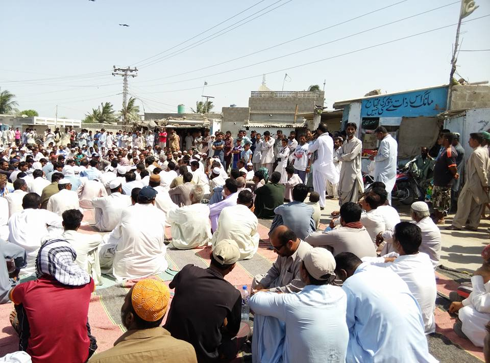 Residents' protests against water crisis and block roads leading to Gwadar Port