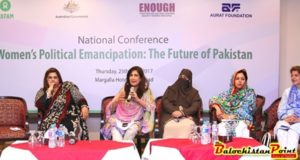 National Conference on Women's Political Emancipation: The Future of Pakistan