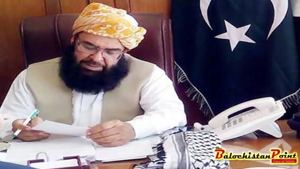 Molana Abdul Ghafoor Haideri Deputy Chairman Senate of Pakistan