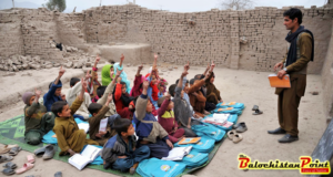 Poor education sector of Balochistan