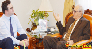 Director British Council calls on Governor Balochistan