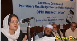 CPDI Launches Pakistan's First Budget Tracker Mobile Application