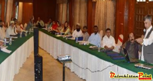 Seminar held on Action Plan for Cutaneous Leishmaniasis Treatment in Balochistan