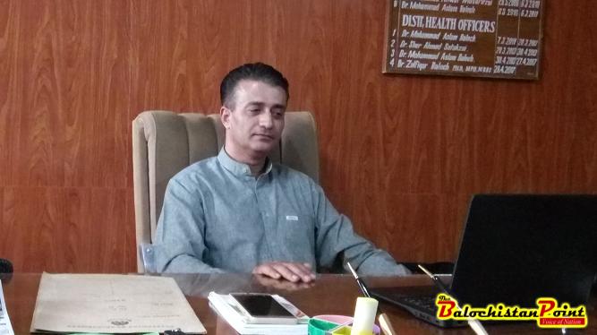 Dr. Zulfiqar Baloch, DHO Kalat