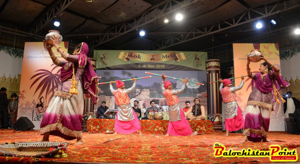 Sindh Musical Night held at Lok Virsa in Lok Mela